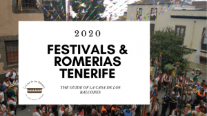 Festivals in Tenerife 2020