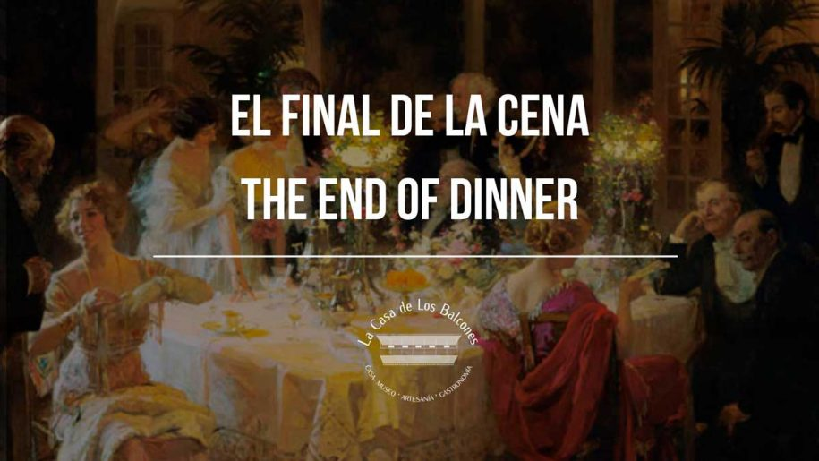 The end of dinner